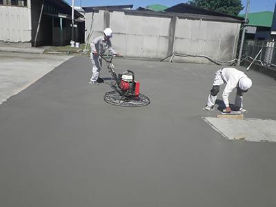 コンクリート舗装2