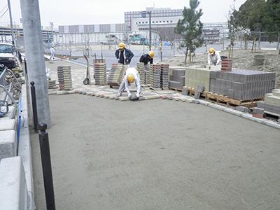 ブロック系舗装2